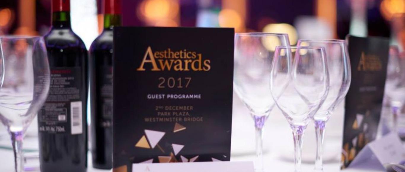 The Aesthetics Awards : Awards Dinner & Ceremony