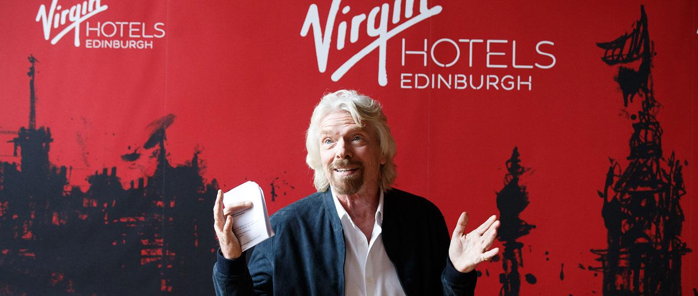 Virgin Hotels Edinburgh : Press Launch Event