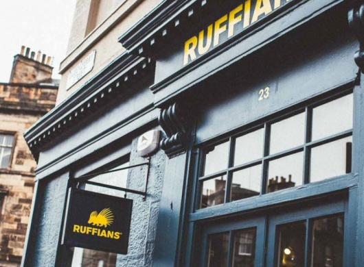 The Naked Grouse with Ruffians : Brand Partnership