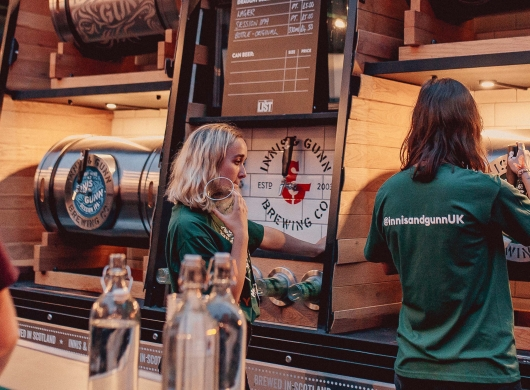 Innis & Gunn and The List Festival Party : Sponsorship Activation