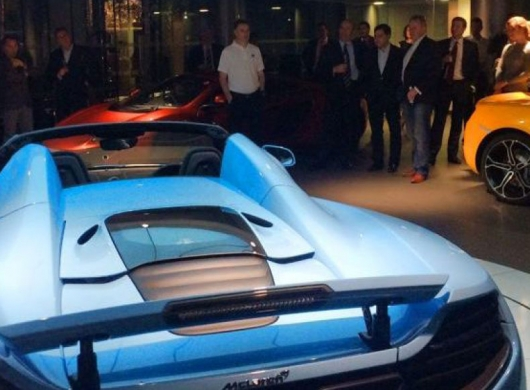 Supercar Club London, UK: VIP Christmas Party