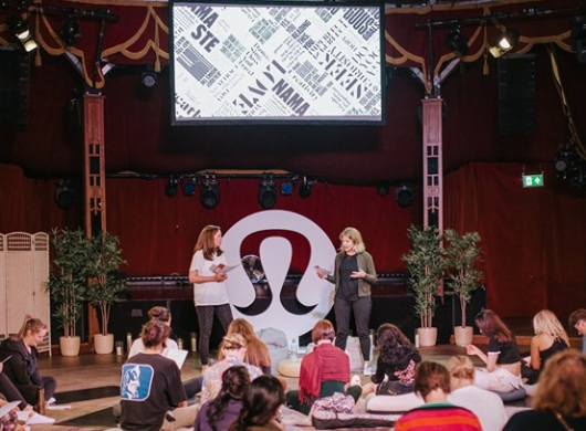 Lululemon : Edinburgh Fringe Workshop